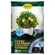 Грунт для лимона и цитрусовых Цветочное счастье 5л Фаско