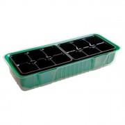 Мини-парник для рассады пластиковый 2 вставки 12 ячеек