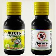Деготь сапропелевый средство от болезней и вредителей ,100 мл